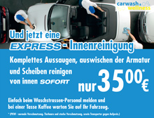 Carwash Express Angebot